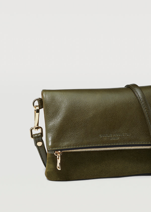 Seaweed Two Tone Mini Weekend Crossbody