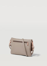 Taupe Two Tone Mini Weekend Crossbody