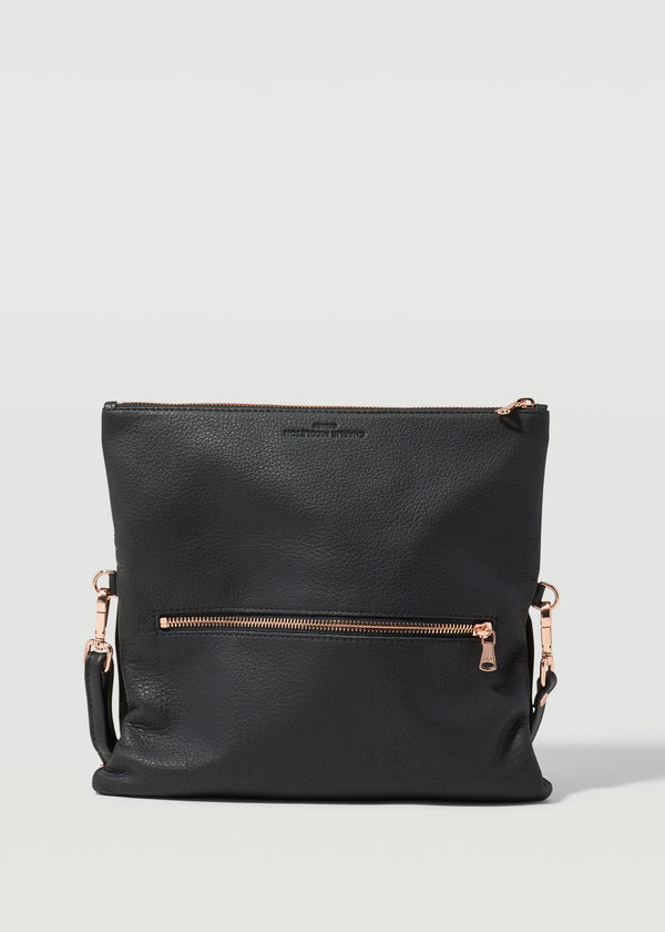 Black Two Tone Weekend Crossbody
