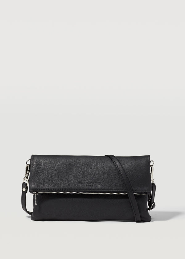 Black Nappa Weekend Crossbody