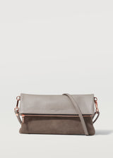 Taupe Two Tone Weekend Crossbody