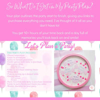 This Sweet Shoppe party planning guide and checklist plans your whole candy birthday for you, helping you bring the sweet treats to your birthday party! Download your full party plan and checklist at allisoncartercelebrates.com