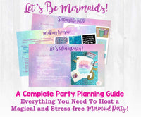 It's time for an undersea adventure for your little mermaid! This beautiful mermaid birthday party planning guide and checklist has everything you need to host a stress-free and memorable under the sea mermaid birthday party for your little girl. This plan helps you save time, stress, and money so you can focus on what really matters- making memories and having fun at your party! Let's plan a party you'll actually enjoy hosting! Complete party planning guide and checklist from Allison Carter Celebrates