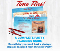 Time flies and your little baby boy is turning ONE! This airplane first birthday party planning guide and checklist has everything you need to host a stress-free and memorable vintage airplane themed first birthday party for your little one. This plan helps you save time, stress, and money so you can focus on what really matters- making memories and having fun at your party! Let's plan a party you'll actually enjoy hosting! Complete party plan and checklist from Allison Carter Celebrates