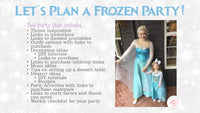 Open up the doors! We've got a birthday to celebrate! This magical Frozen themed birthday party planning guide and checklist has everything you need to host a stress-free and memorable Frozen birthday party for your little girl. This plan helps you save time, stress, and money so you can focus on what really matters- making memories and having fun at your party! Let's plan a party you'll actually enjoy hosting! See the full party plan at allisoncartercelebrates.com
