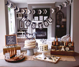 wild one dessert table, wild one party, first birthday party, one wild adventure, dessert table set up
