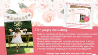 How to host a boho flower birthday party with this complete party planning guide and checklist. Save time, stress and money when planning your little girl's floral themed birthday party with this guide! Everything you need, start to finish, all with links to purchase it all, making hosting your party a breeze. Party planning has never been easier!