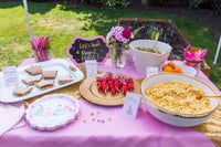 Princess party food: from the princess party planning guide and checklist- everything you need, including all links to purchase to help you host a stress-free party for your little princess!