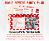 Let's dream up a birthday party together! This party planning guide and checklist has everything you need to host a stress-free memorable Rosie Revere Engineer themed birthday for your little dreamer. This plan helps you save time, stress, and money so you can focus on what really matters- making memories and having fun at your party! Download complete party planning guide and checklist at allisoncartercelebrates.com