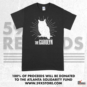The Carolyn & 59 X Records - Atlanta Solidarity Fund Tee