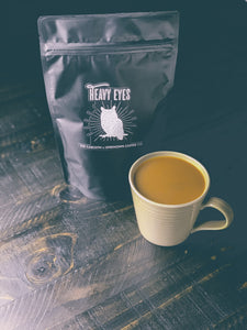 "The Carolyn - ""Heavy Eyes"" Coffee Blend + LP & Shirt"