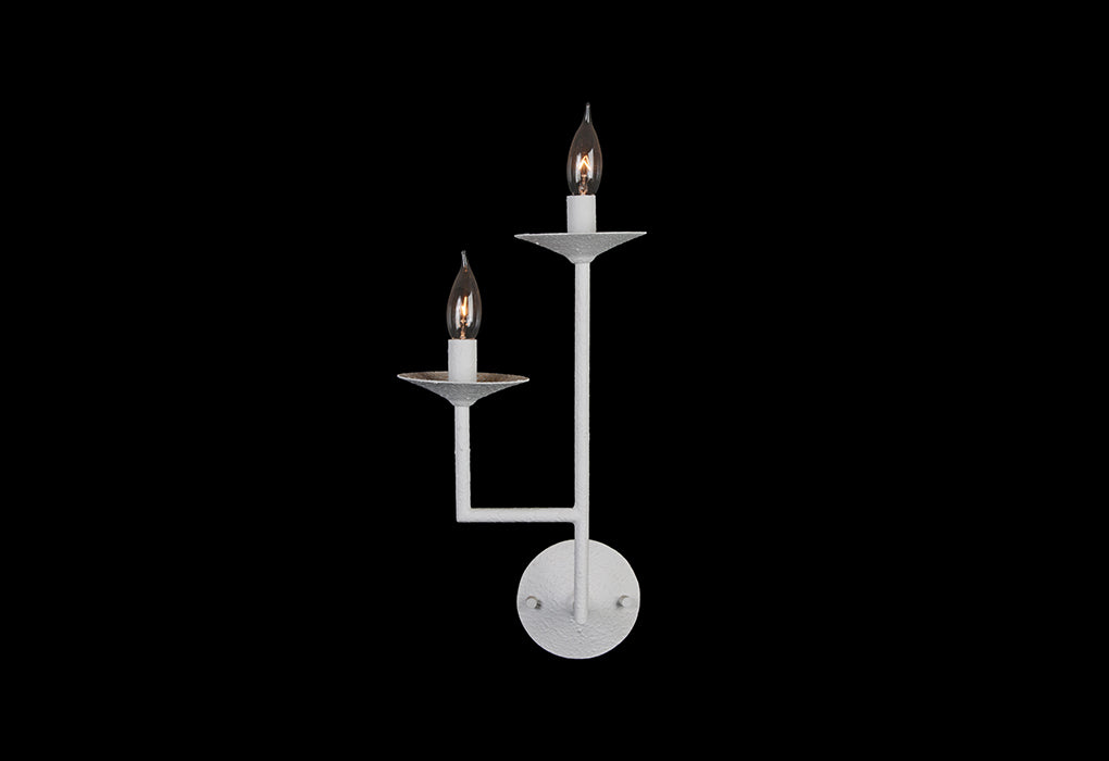 LE MARAIS Two Taper Sconce Left