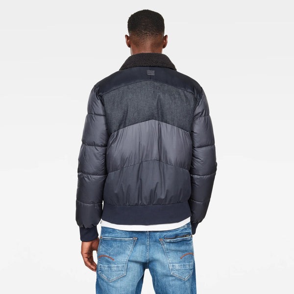 Ore Denim Mix Bomber