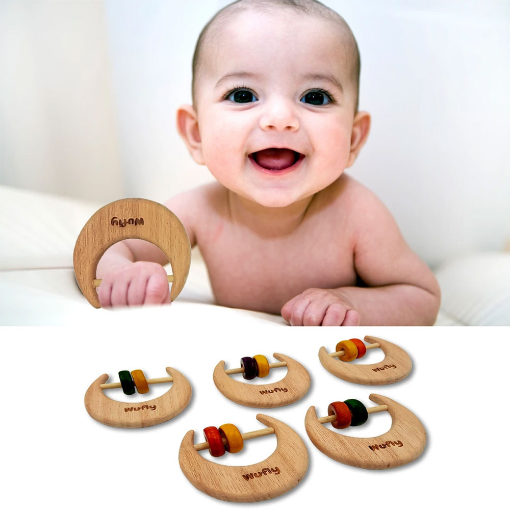 Neem Wood Teether - Wufiy