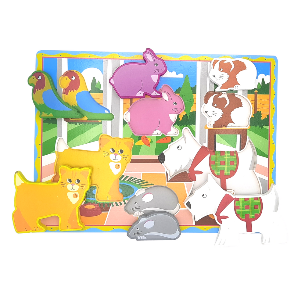 Chunky Puzzle - Pets / Domestic Animals