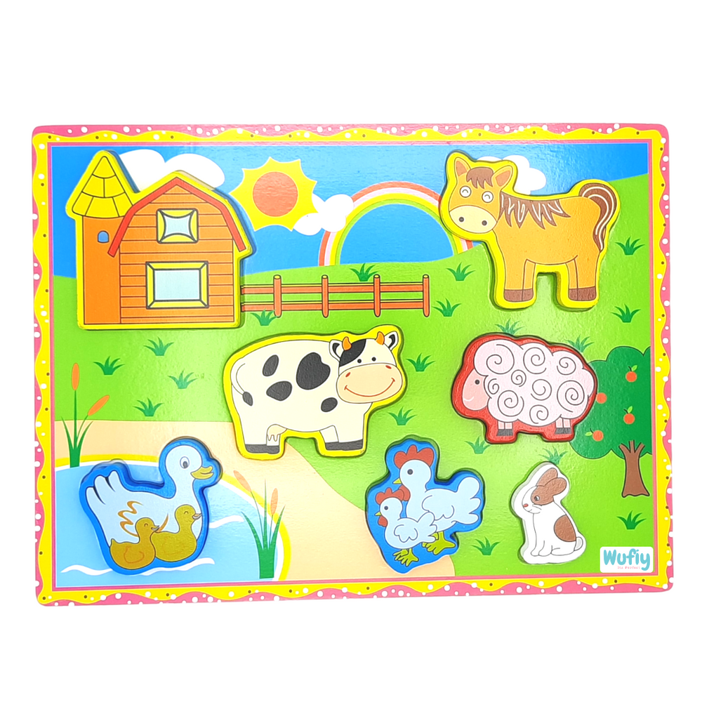 Chunky Puzzle - Farm Animals
