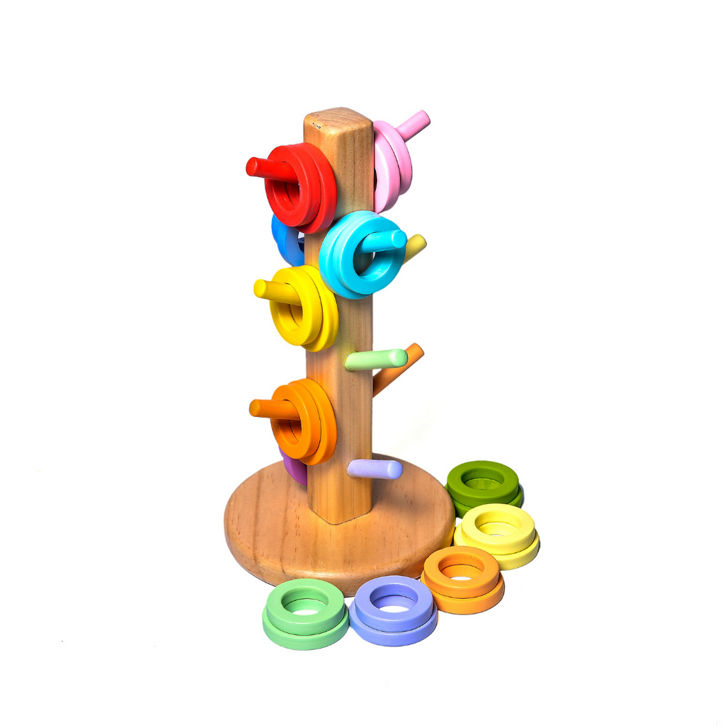 WUFIY WOODEN CAR SHAPE PLATE + FREE SET OF SPOONS