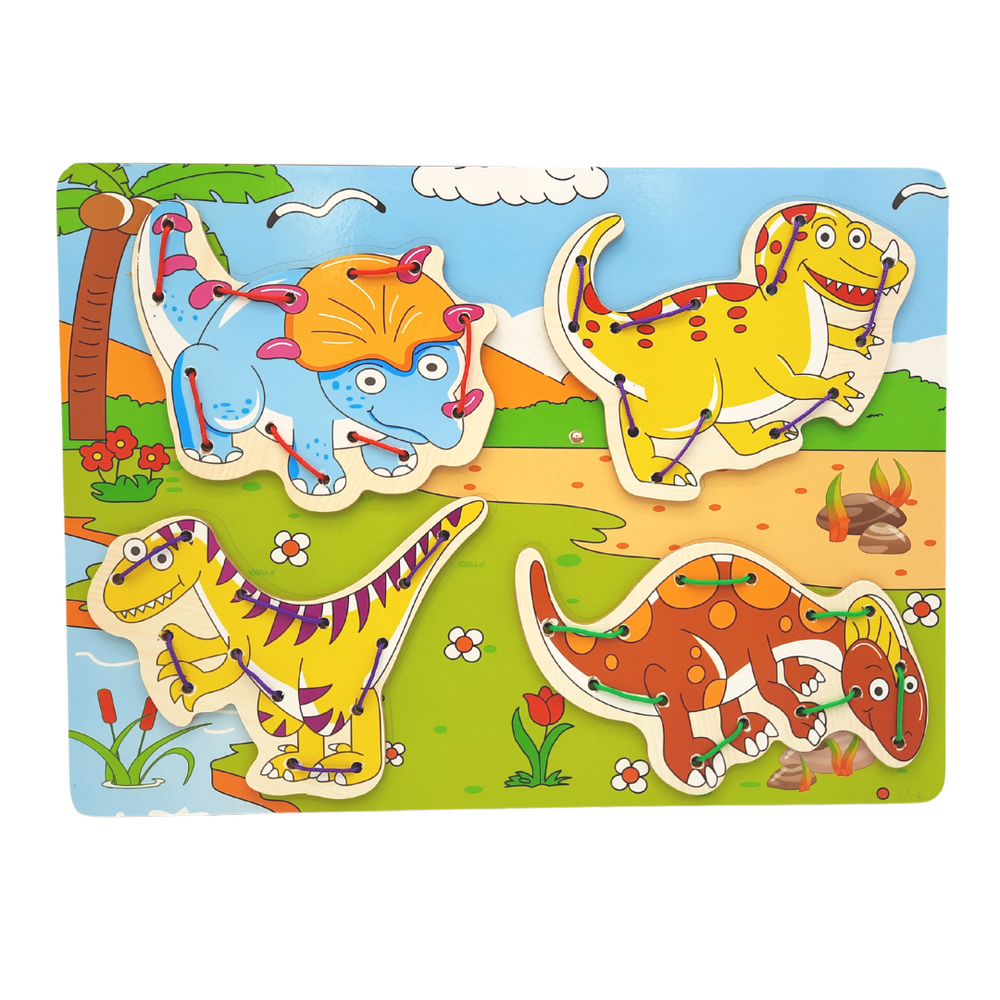 Animal Safari - Lacing Toy (Pack of 4)