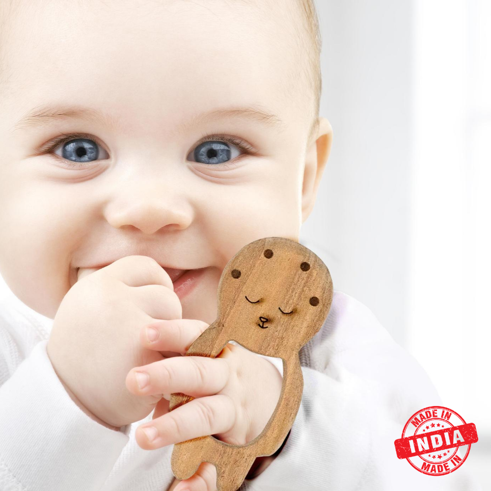 Neem Wooden teether Pacifier for Babies
