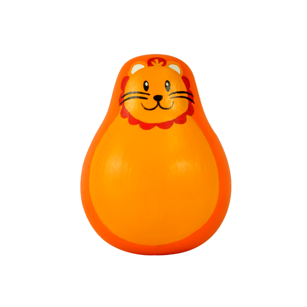 Lion Wobbling Toy | Roly Poly Baby Toy