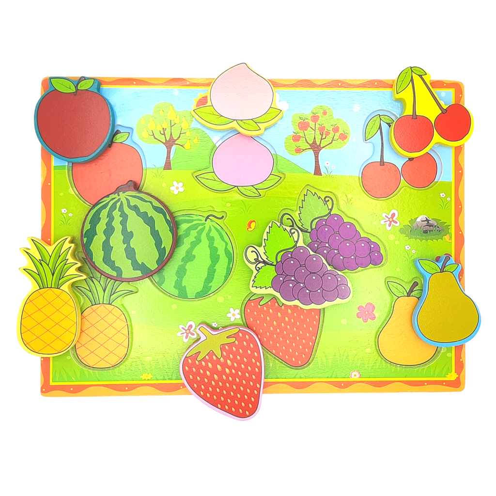 Chunky Puzzle - Fruits