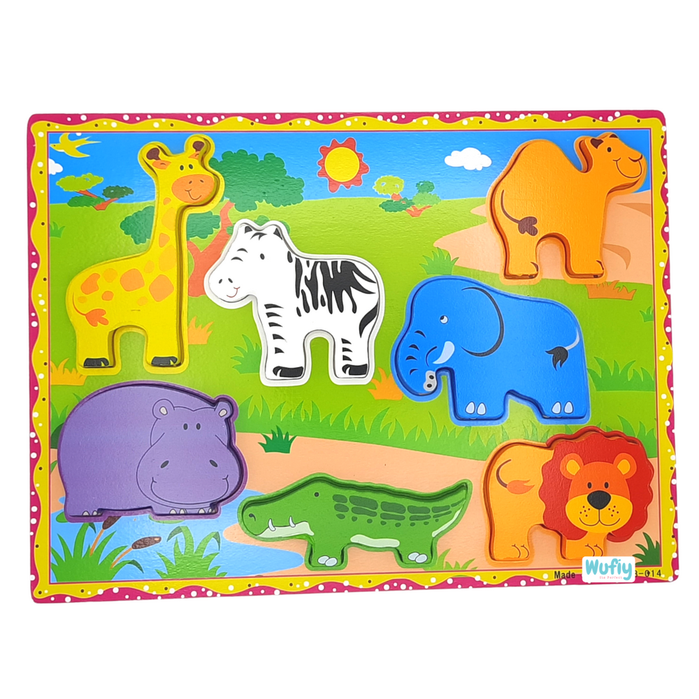Chunky Puzzle - Wild Animals