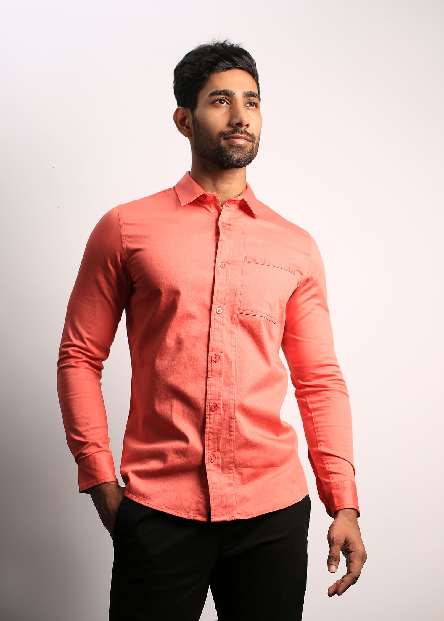 Detailed Casual Wear Long Sleeved Shirt
