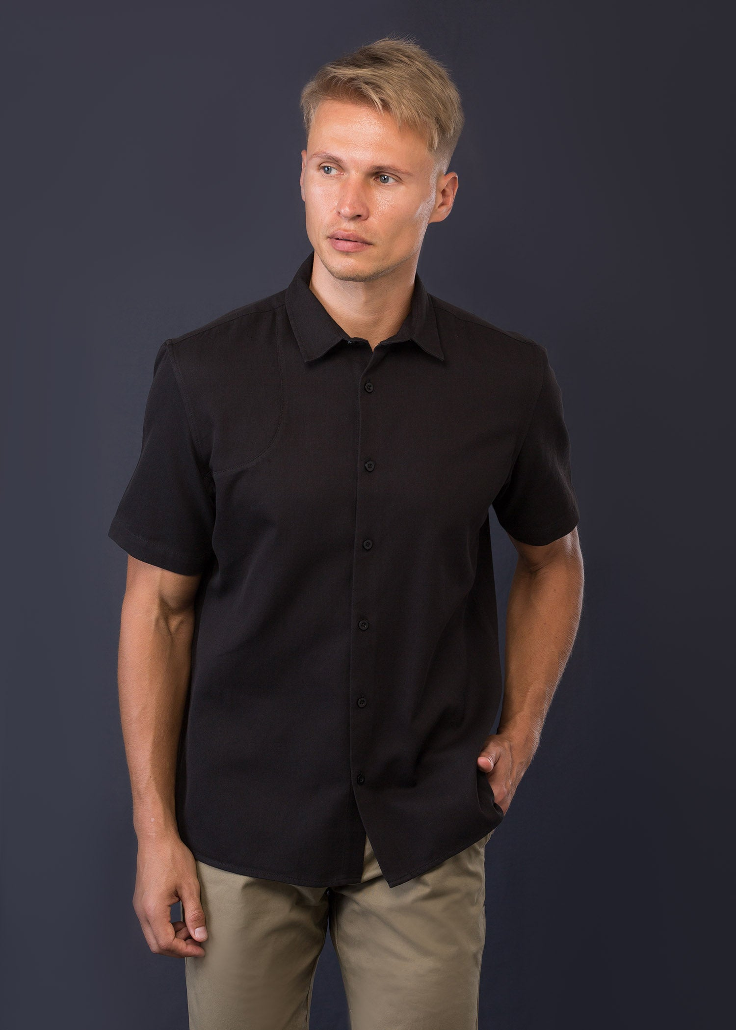Detailed Casual Wear S/S Shirt