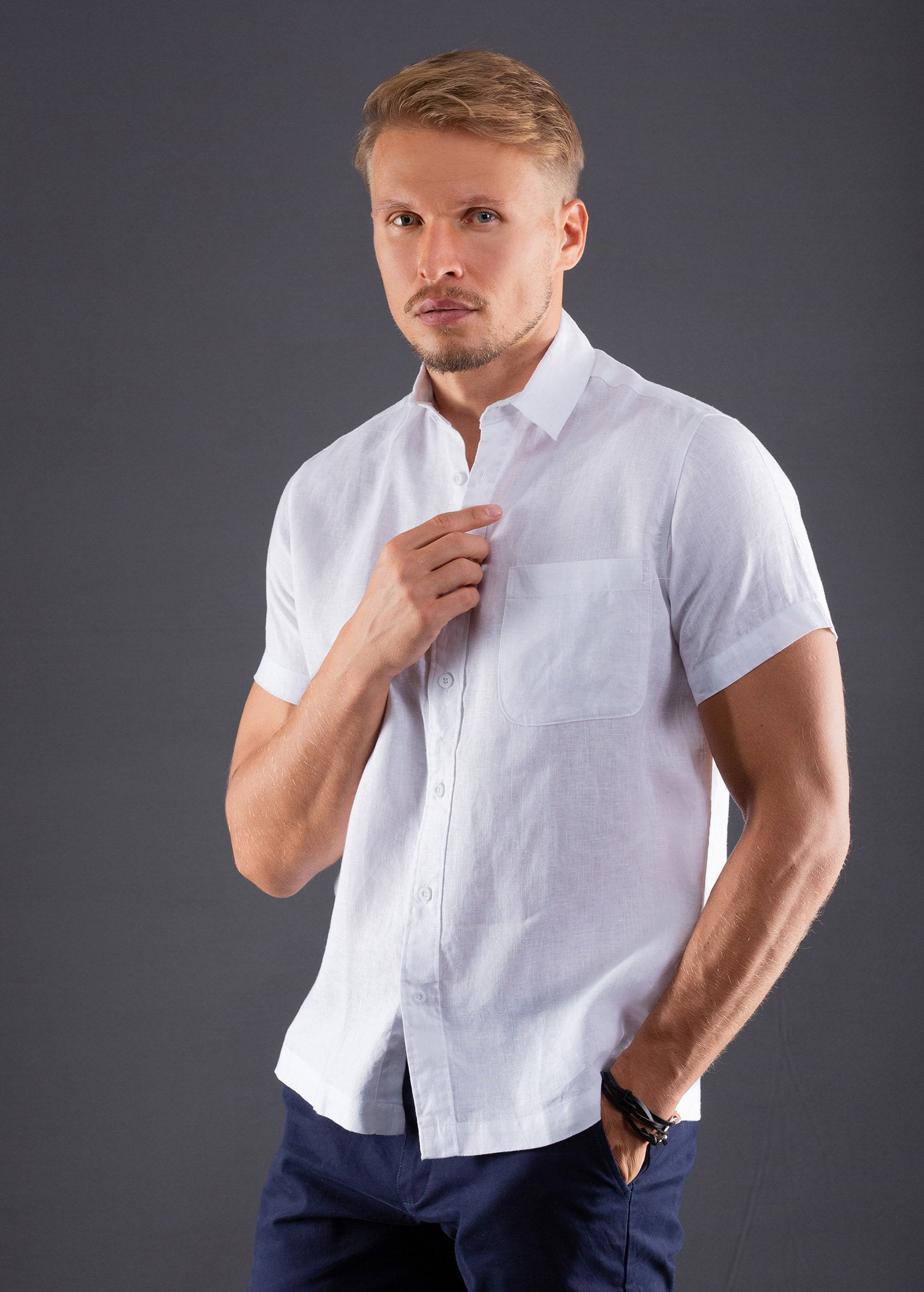 Casual wear Linen Padini S/S Shirt