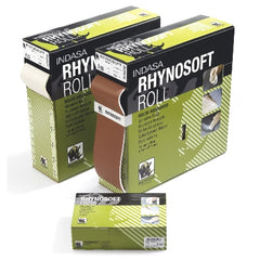 Indasa Rhynosoft Hand Pads and Rolls Collection