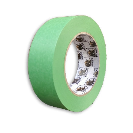 "Indasa MTE Premium Green Masking Tape, 36mm (~1.5""), 596869"