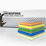 Indasa Rhyno Sponge Double Sided Hand Sanding Pads, Case of 100