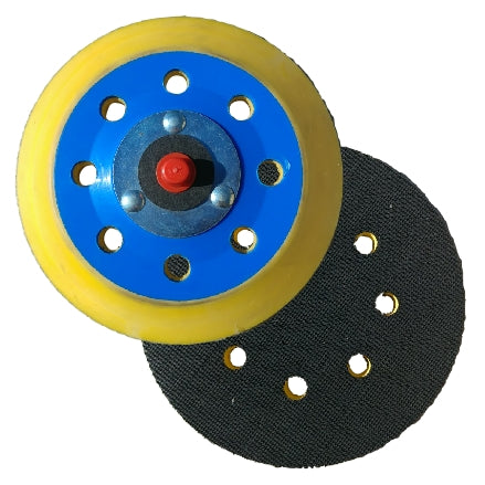 "Indasa 5"" 8-Hole Grip Backup Pad, 6002-8H"