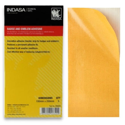 Indasa Badge Emblem Adhesive Kit, 566404