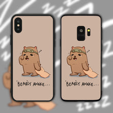 Load image into Gallery viewer, Bearly Awake Phone Case