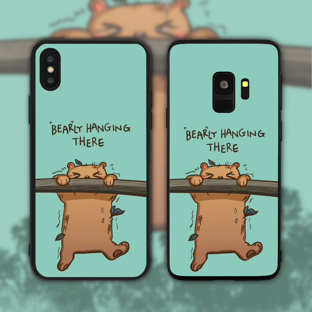 Bearly Hanging There Phone Case