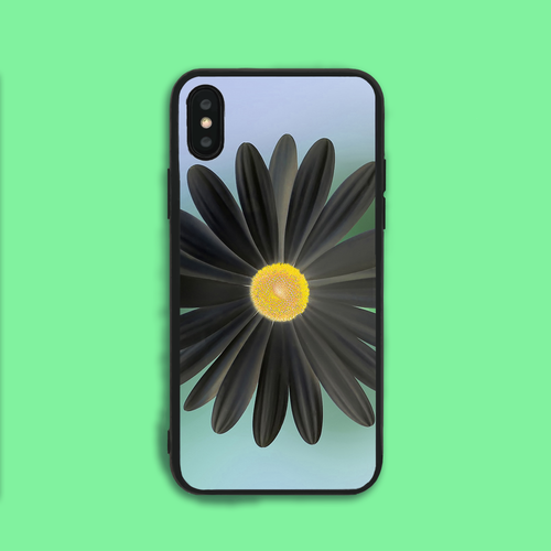 Black Petals Phone Case
