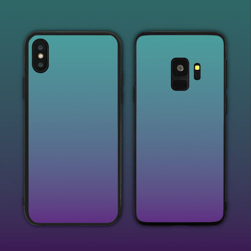Blue Purple Gradient Series Phone Case