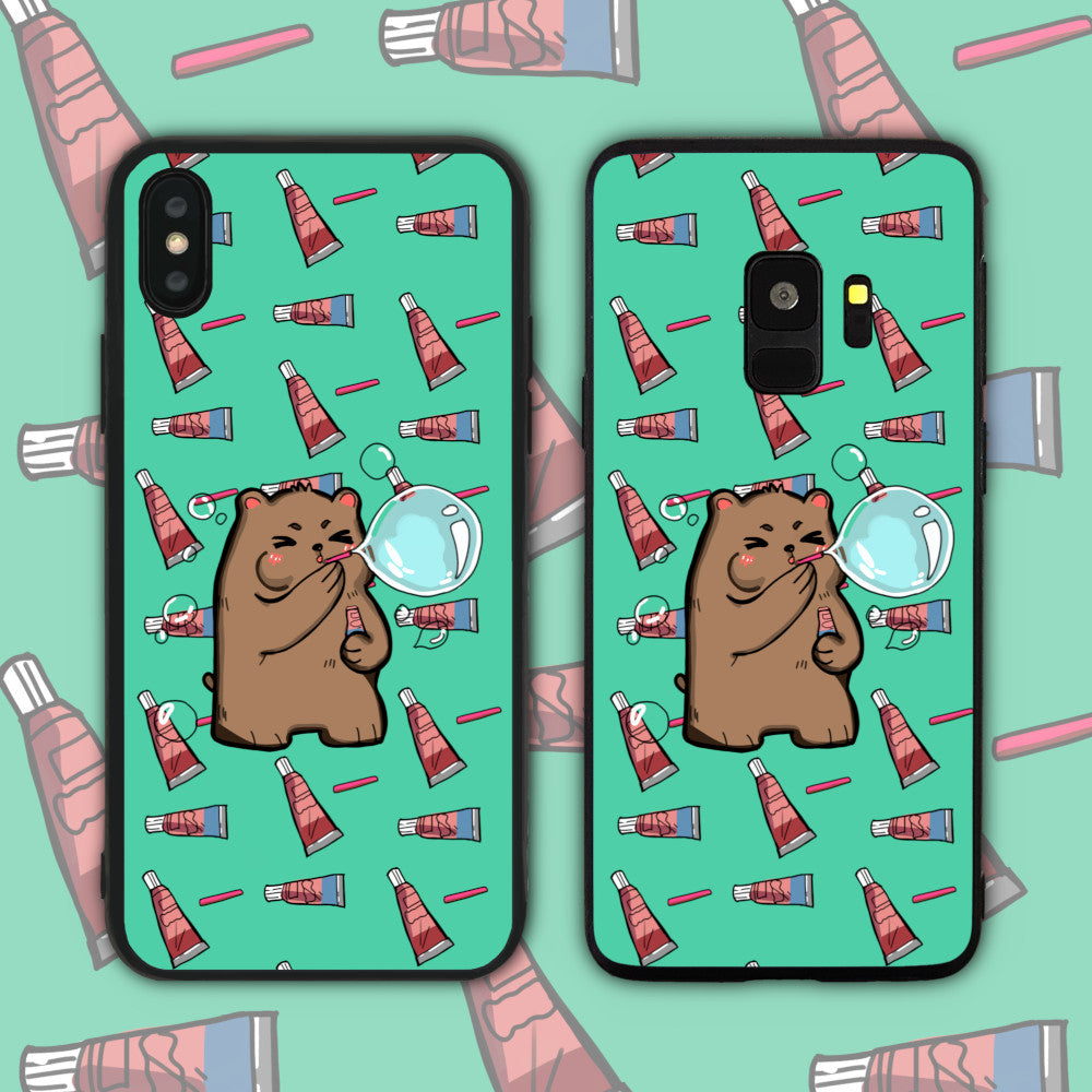 Bubble Bear Phone Case