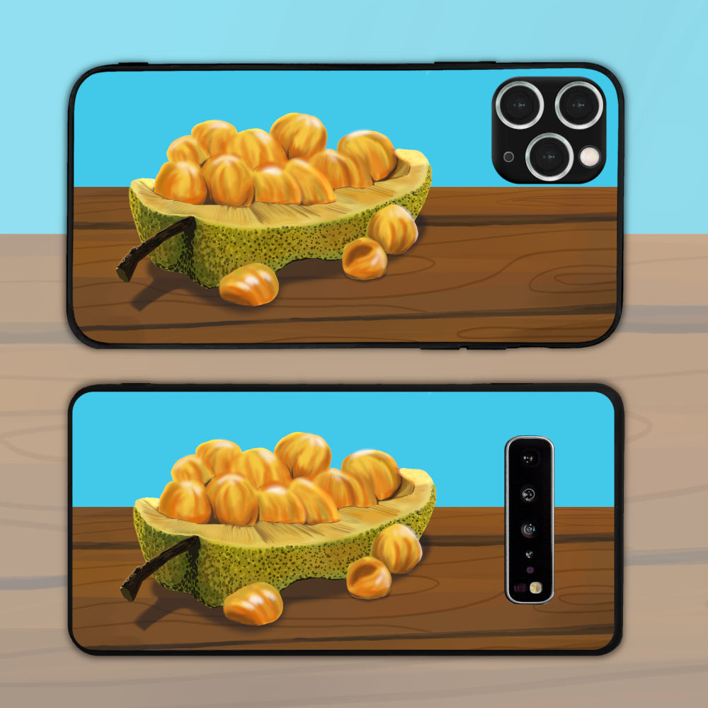 Cempedak On Top Of A Table Phone Case