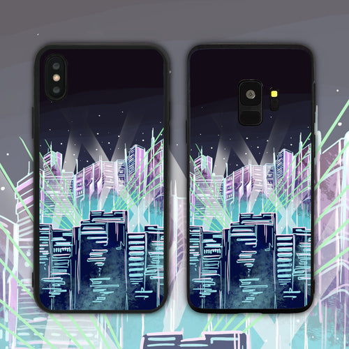 City Lights Phone Case