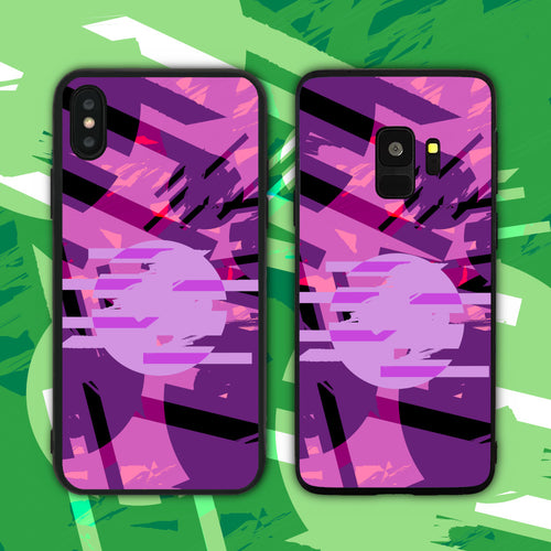 Cyberpunk Abstract Phone Case