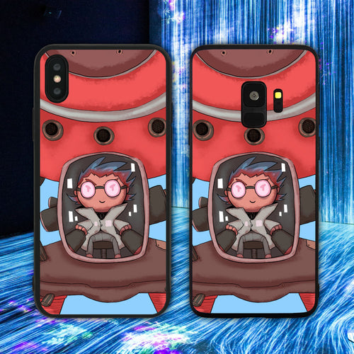 Cyberpunk Scientist Phone Case