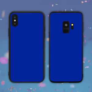 Dark Blue Color Series Phone Case