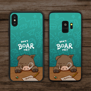 Don't Boar (Bore) Me Phone Case