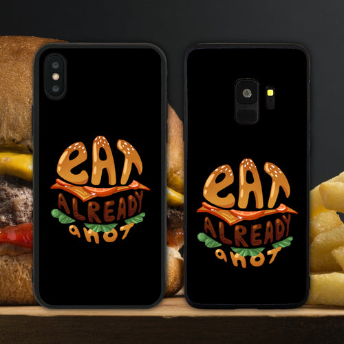 Eat Already Anot Black Phone Case