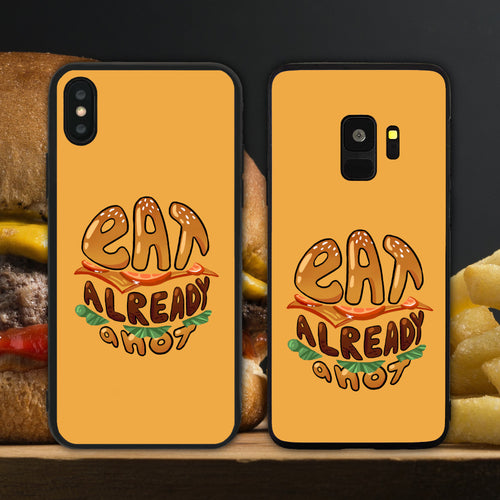 Eat Already Anot Yellow Phone Case