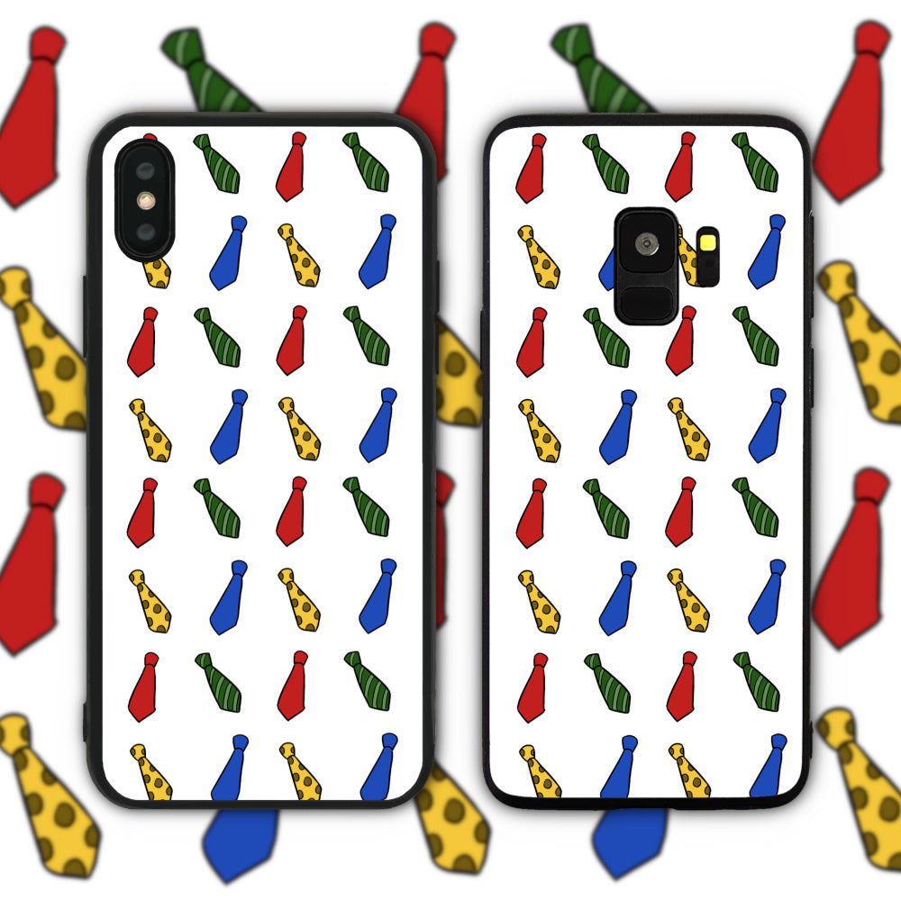 Father's Day Tie Pattern Phone Case