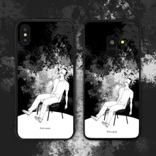 Load image into Gallery viewer, Fatigue Black Phone Case