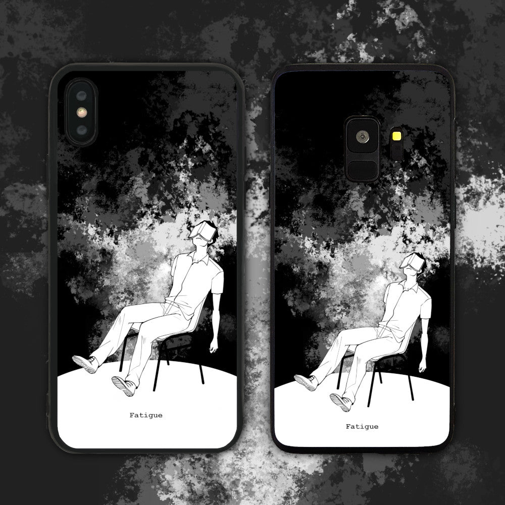 Fatigue Black Phone Case